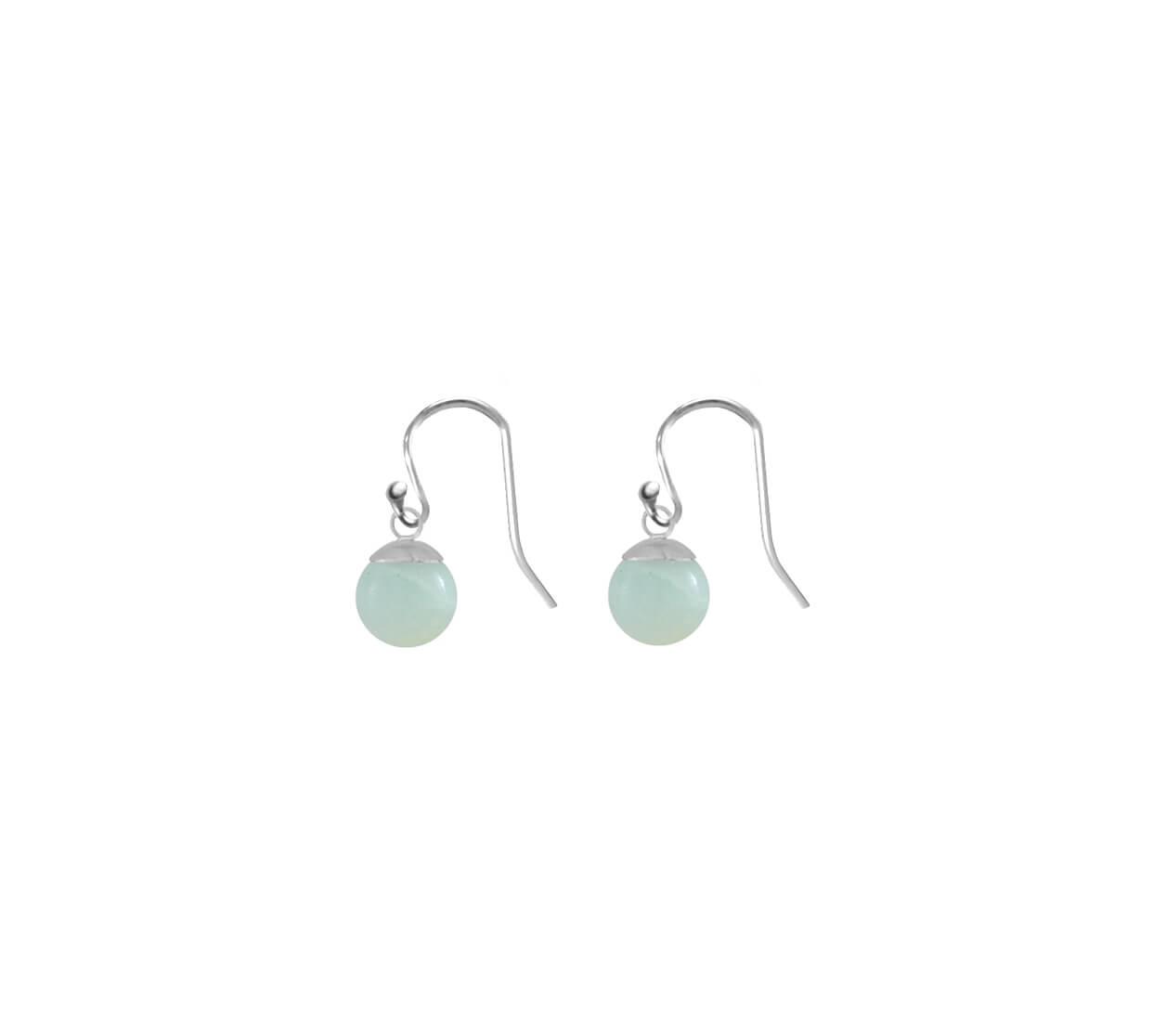 Mas Jewelz earring Classic Blackstone Gold