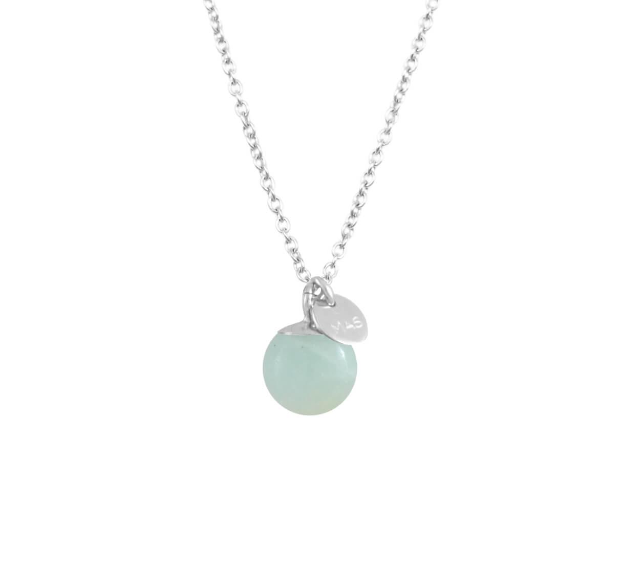 Mas Jewelz necklace Classic Amazonite Silver