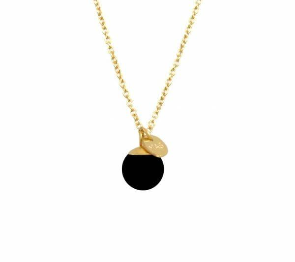 Mas Jewelz collier Classic Blackstone Goud