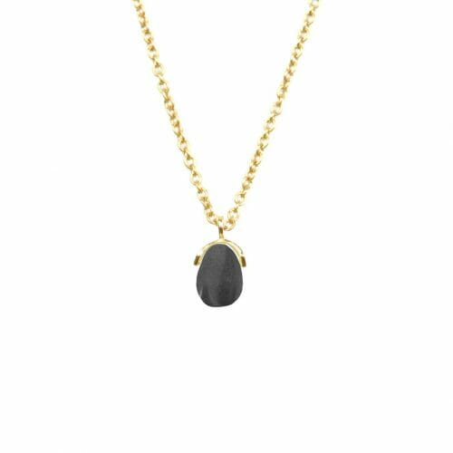 Mas Jewelz necklace Bail Hematite Gold