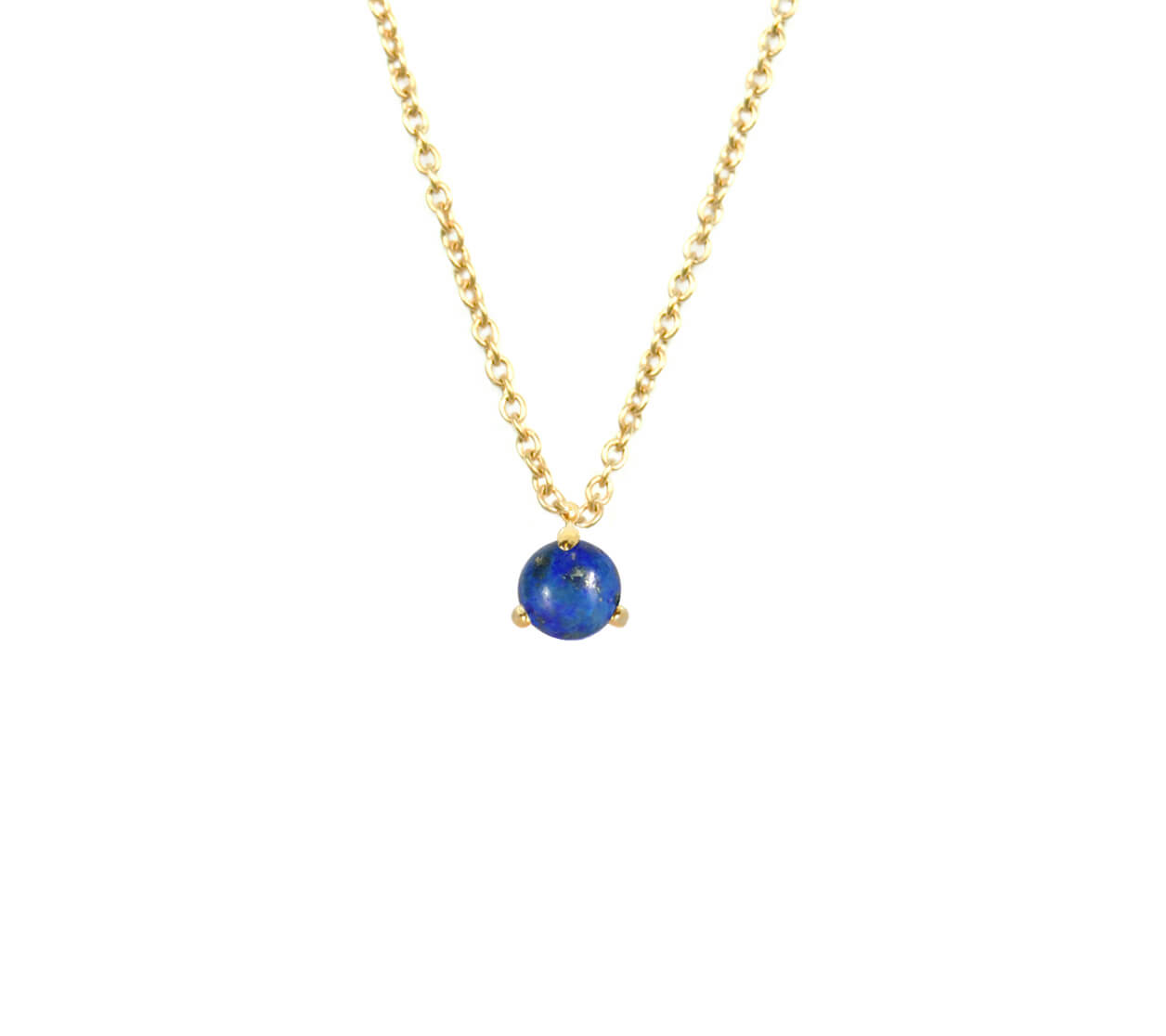 Mas Jewelz necklace Cabuchon Lapis Lazuli Gold