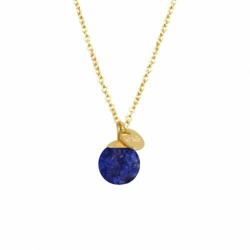 Mas Jewelz necklace Classic Lapis Lazuli Gold