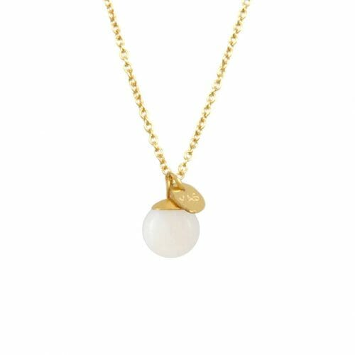 Mas Jewelz collier Classic Mother of Pearl Goud
