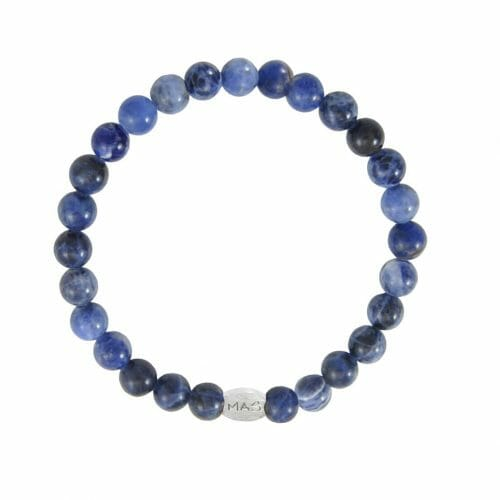 Mas Jewelz Men 6 mm Sodalite Model 1