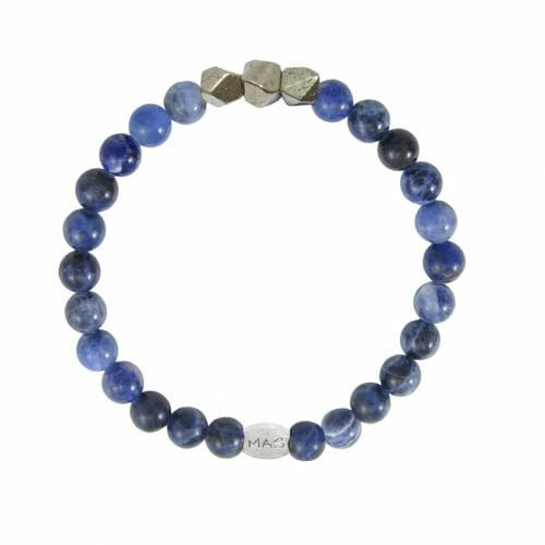 Mas Jewelz Men 6 mm Sodalite Model 2