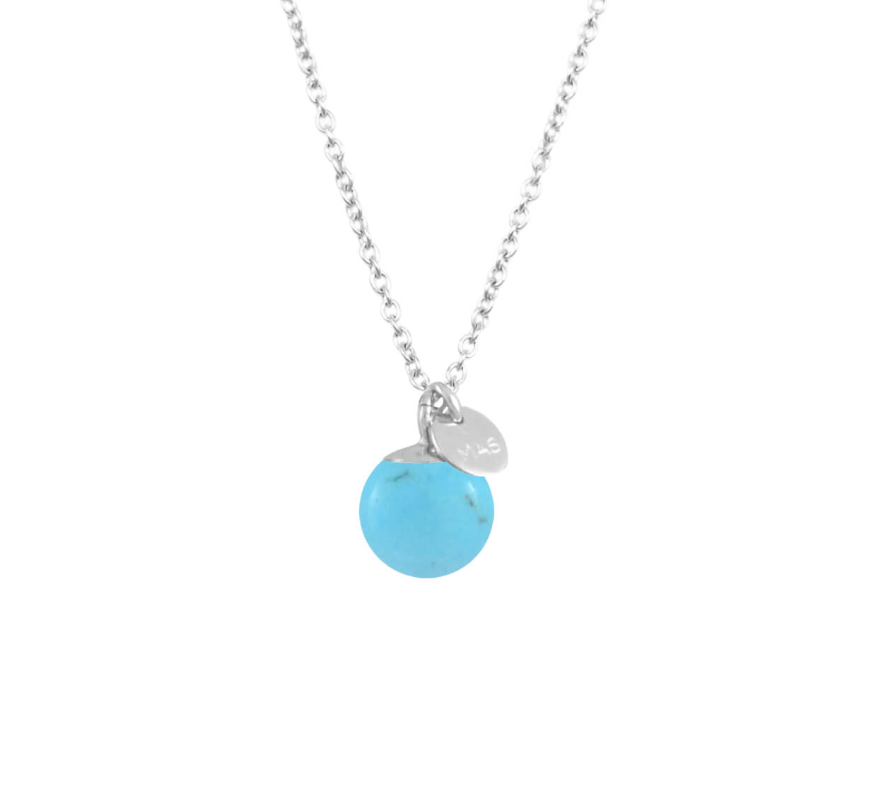 Mas Jewelz necklace Classic Turquoise Silver