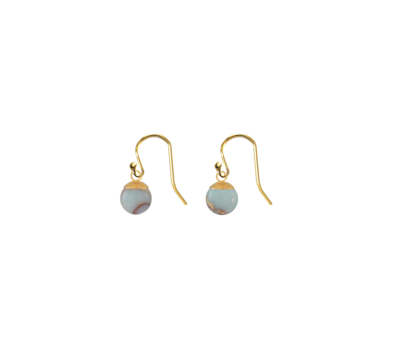 Mas Jewelz earring Classic Serpentine Gold