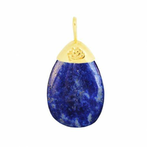 Mas Jewelz pendant Lapis Lazuli Gold