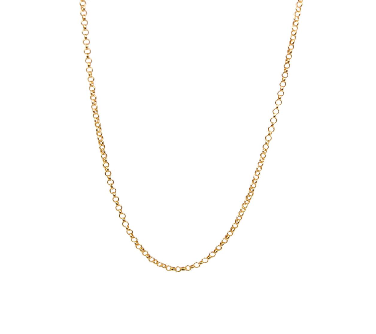 Mas Jewelz necklace plain 57-60 cm Gold