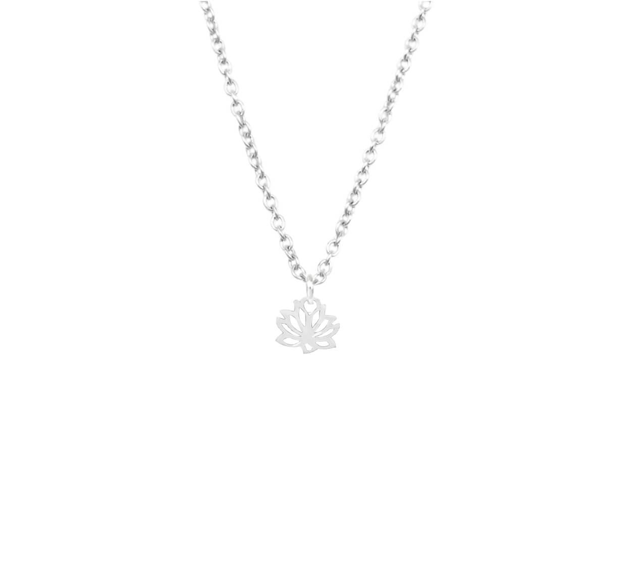 Mas Jewelz necklace label Lotus