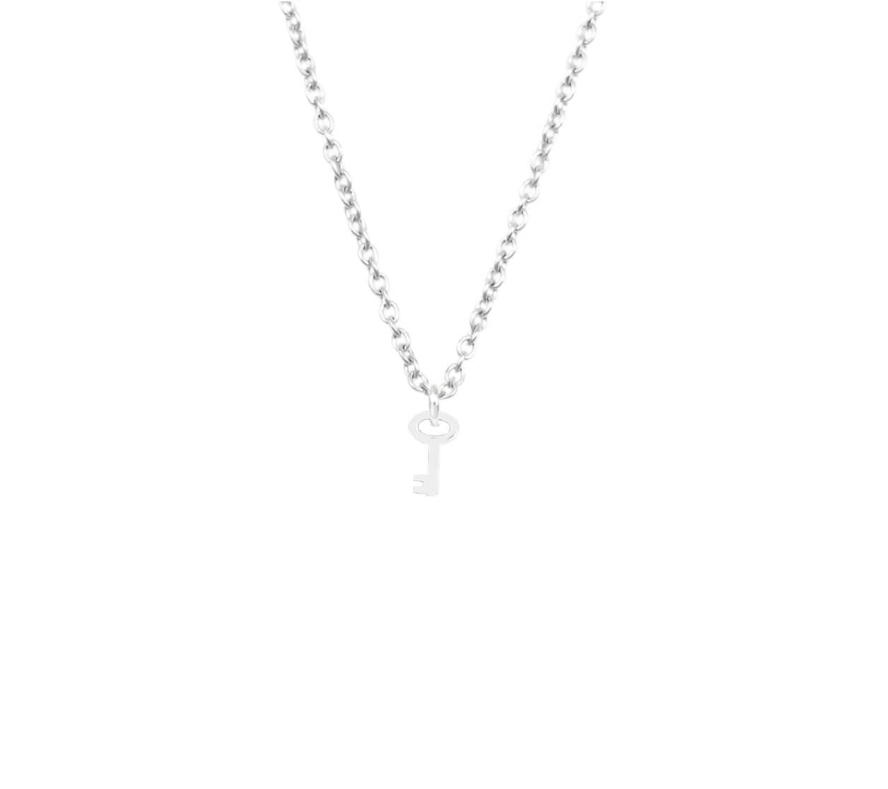 Mas Jewelz necklace label Key