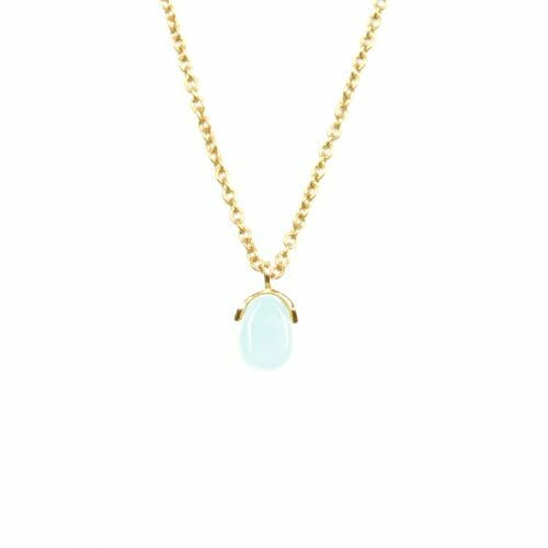 Mas Jewelz necklace Bail Amazonite Gold