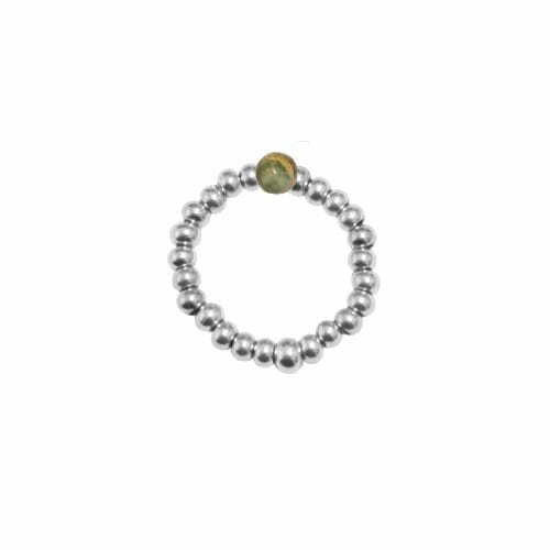 Mas Jewelz Ring 3 mm Serpentine Model 2 Silver