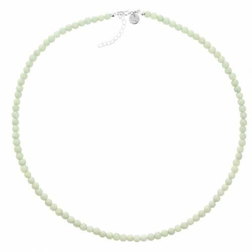 Mas Jewelz necklace 4 mm Amazonite Silver