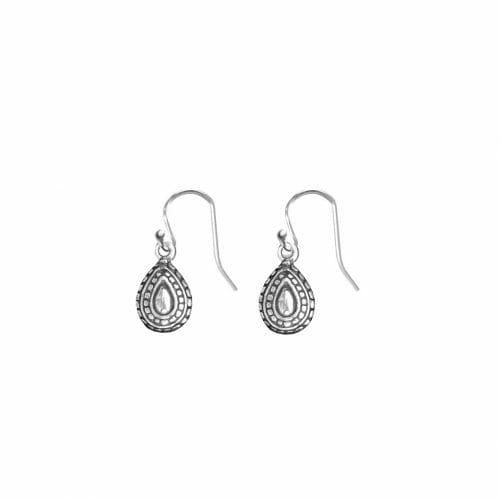 Mas Jewelz Earrings with Pendant Silver